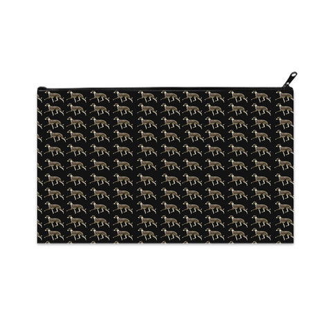 Italian Greyhound Cosmetic Zip Bag
