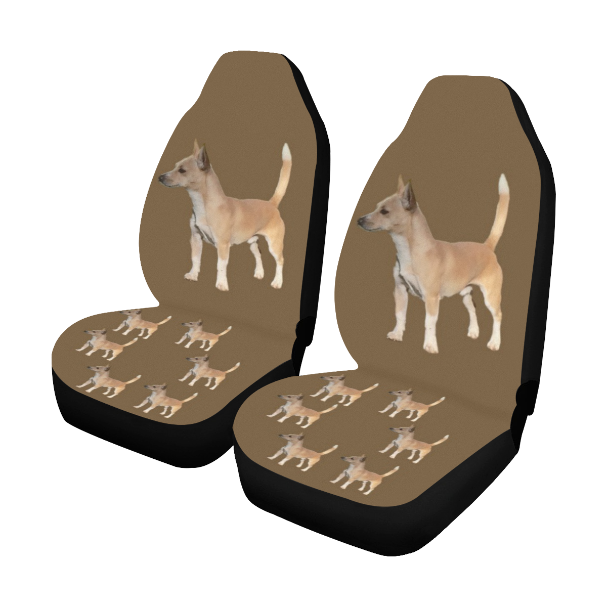 Portuguese Podengo Car Seat Covers (Set of 2)