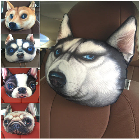 Animal Shaped Head Rest Pillow