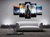 5 Piece Angel Canvas Wall Art