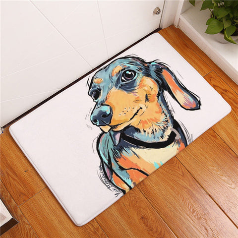 Dog Print Area Rugs - Multiple Breeds