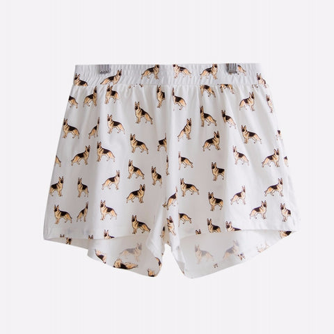 German Shepherd PJ Shorts