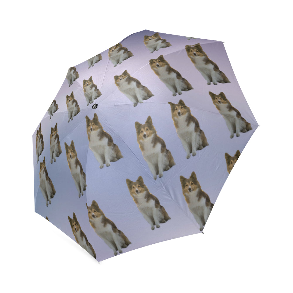 Purple Sheltie Umbrella