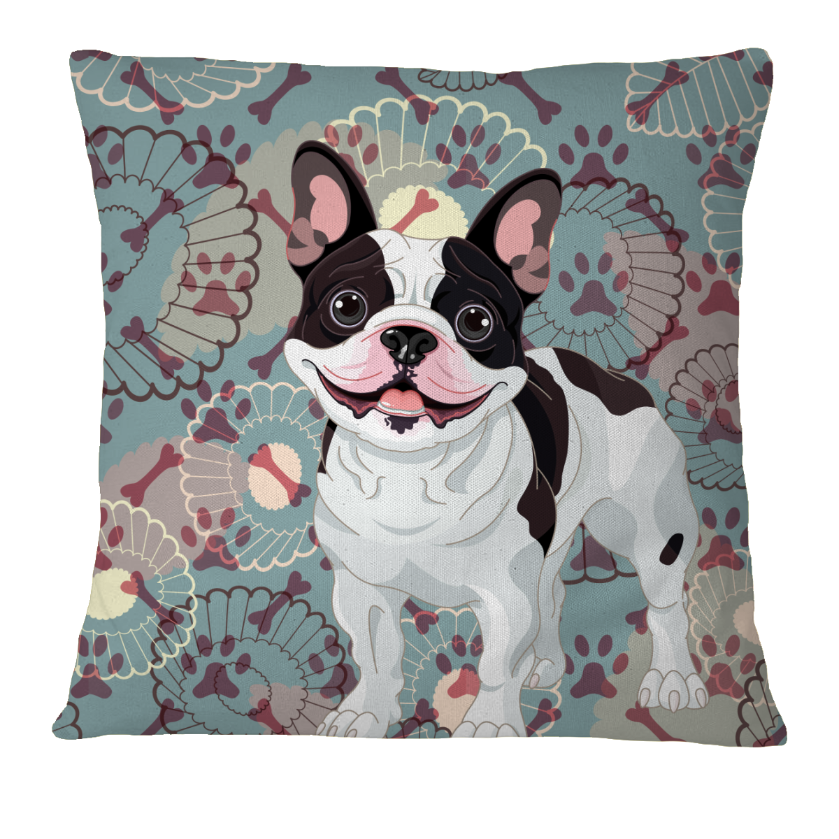 French Bulldog Pillow Case Cover