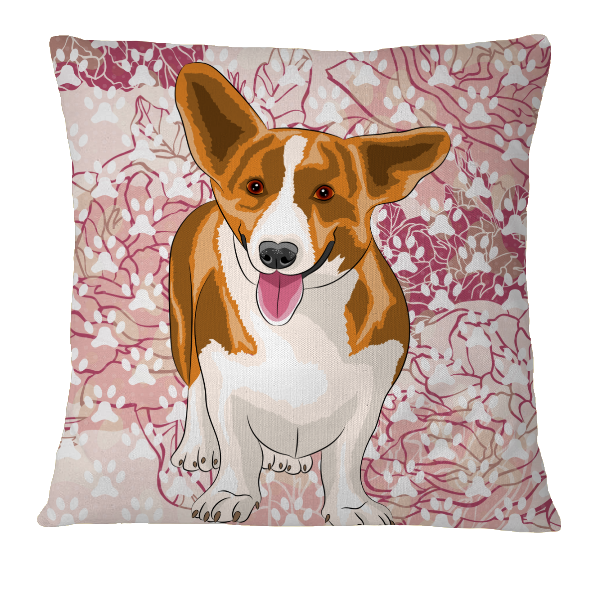 Corgi Pillow Case