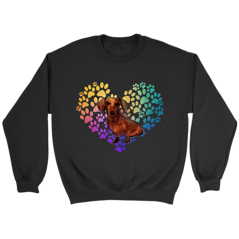 Dachshund Heart Shirt/Sweatshirt