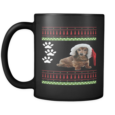Dachshund Holiday Mug