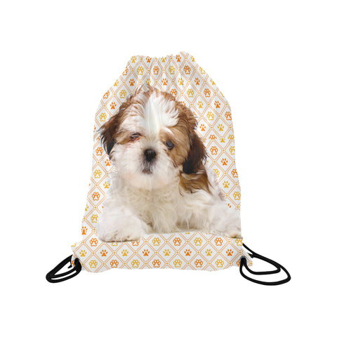 Shih Tzu Drawstring Bag