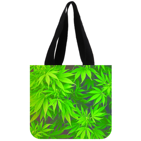 Weed Canvas Tote Bag