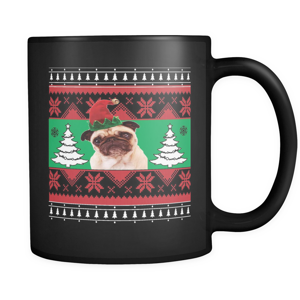 Pug Holiday Mug