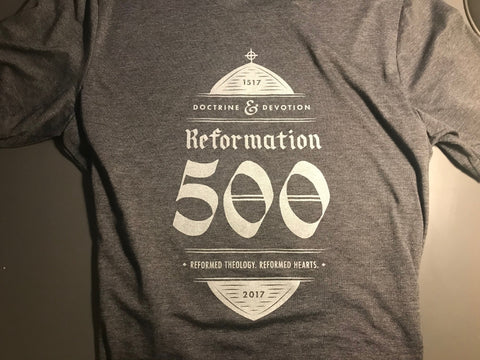 Doctrine & Devotion Reformation 500 Tee
