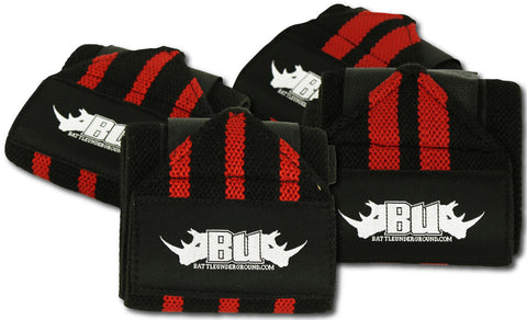 12 inch Wrist Wrap Combo | 1 Regular Pair & 1 Heavy Pair