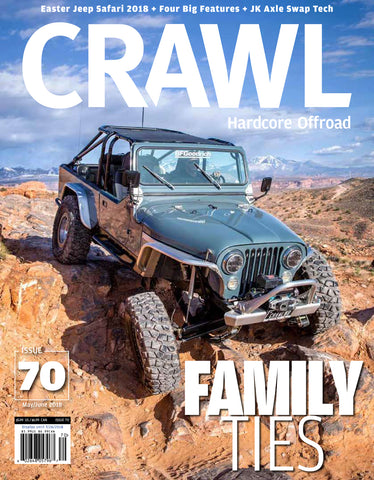 CRAWL 2 Year Subscription - 12 Issues