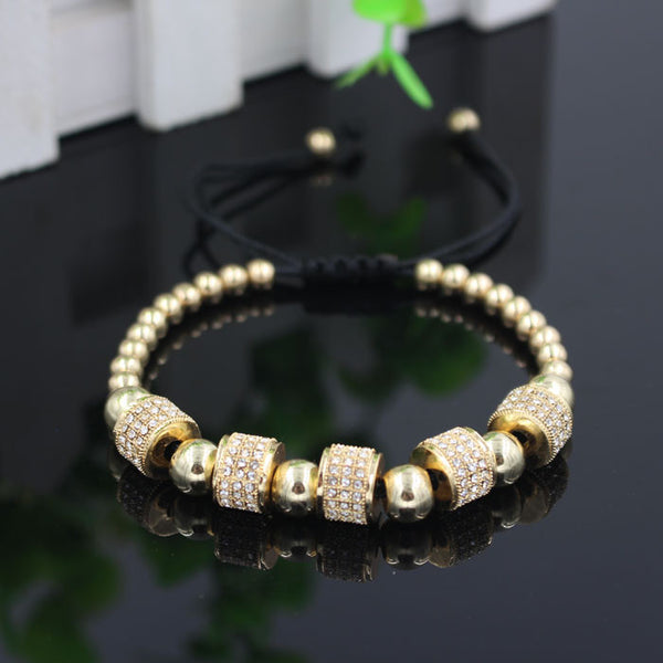 5 Stopper Pave Bracelet - FREE (just pay shipping)