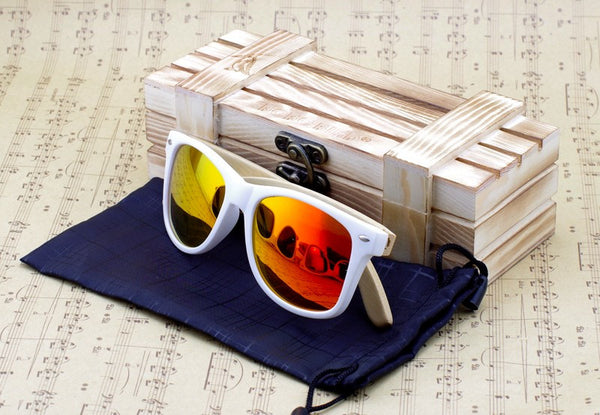 SoFi Coastal Signature Bamboo Polarized Sunglasses