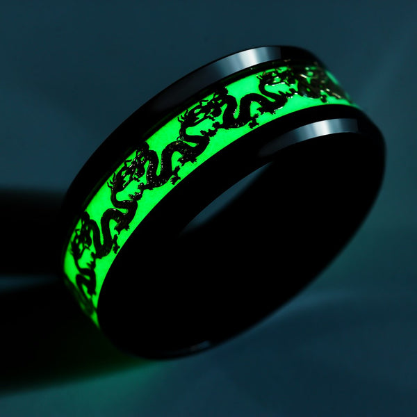 Luminous ICE Dragon Ring