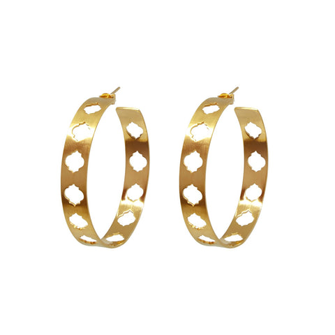 Mahal Hoops Large Gold