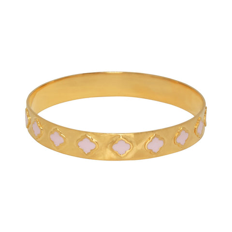 Jaali Bangle Gold Blush