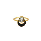 Evren Ring Black