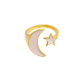 Luna Ring Navy
