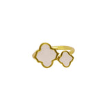 Arabesque Ring Pale Pink