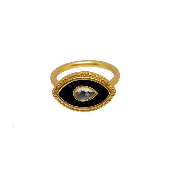 Royal Eye Ring Black