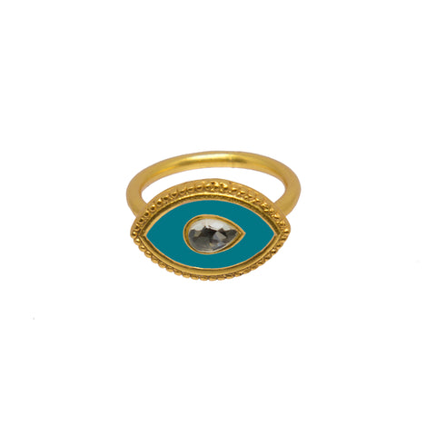 Royal Eye Ring Turquoise