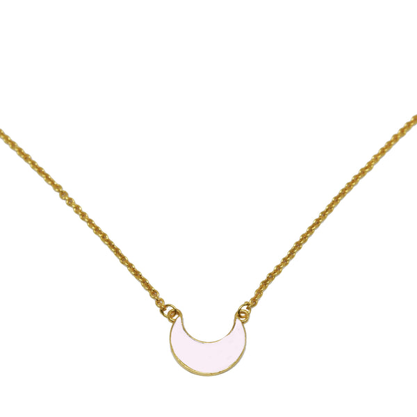Luna Necklace Pale Pink