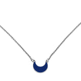 Luna Necklace Navy