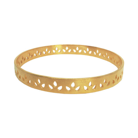 Lily bangle gold luxe bohemian jewellery australia