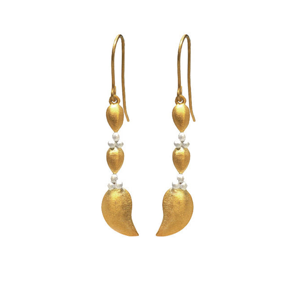 Royal Hamam Rani gold earring luxe bohemian jewellery