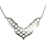 Screen Goddess Necklace Silver