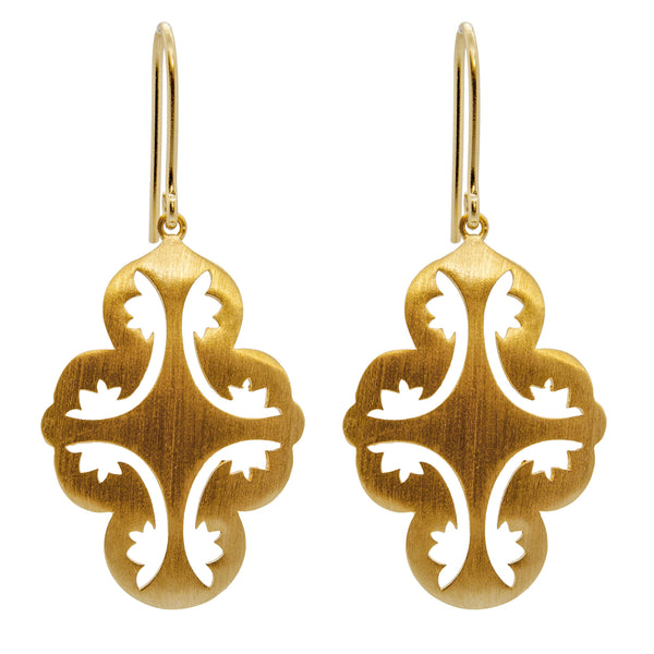 Goddess Earrings Gold