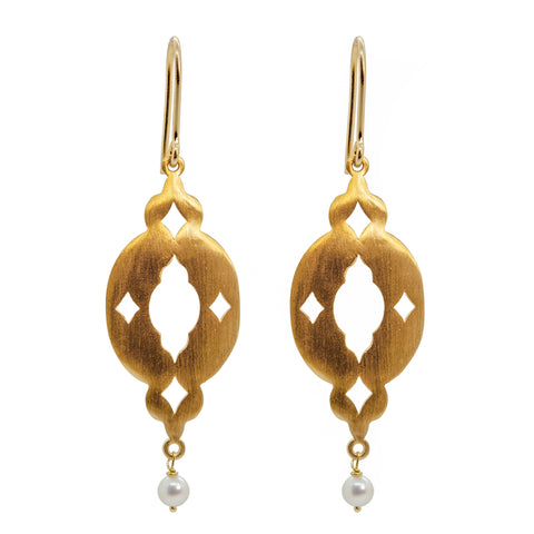 Aladdins Night Earrings Gold