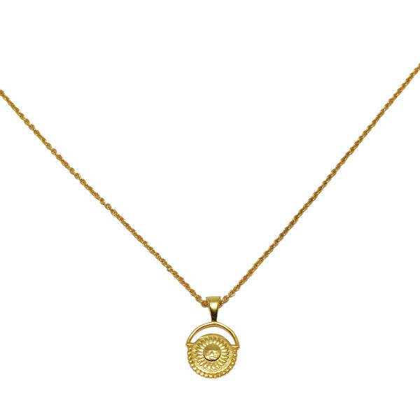 Surya Necklace Gold