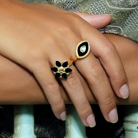 Kashini Ring Black