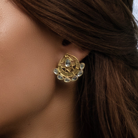 Asra Earrings Gold