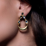 Brahma Earrings Gold