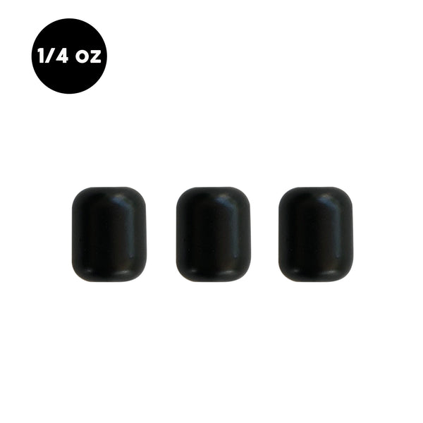 1/4 oz Tungsten Carolina Rig Barrel Weight (3 Pack) - WOO! TUNGSTEN