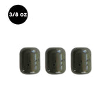 3/8 oz Tungsten Carolina Rig Barrel Weight (3 Pack) - WOO! TUNGSTEN