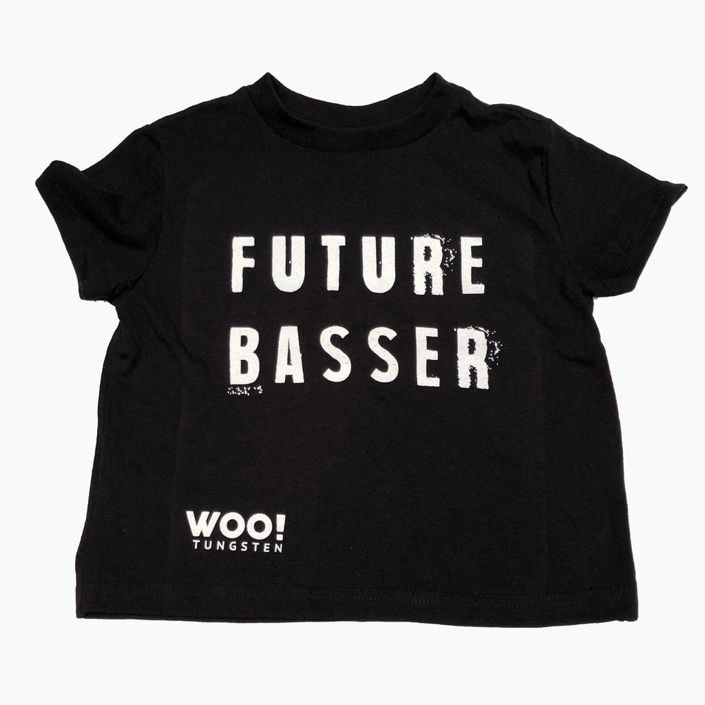 Future Basser Kids T-Shirt - WOO! TUNGSTEN