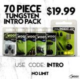 "INTRO PACK - 70 Piece Tungsten and Accessories - USE CODE ""INTRO"" - WOO! TUNGSTEN"