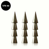 1/16 oz Neko Rig Tungsten Nail Weight (8 pack) - WOO! TUNGSTEN