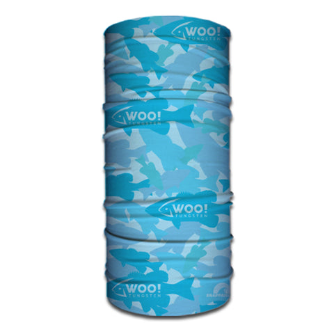 WOO! Tungsten Face Buff (Bass Camo Blue) - WOO! TUNGSTEN