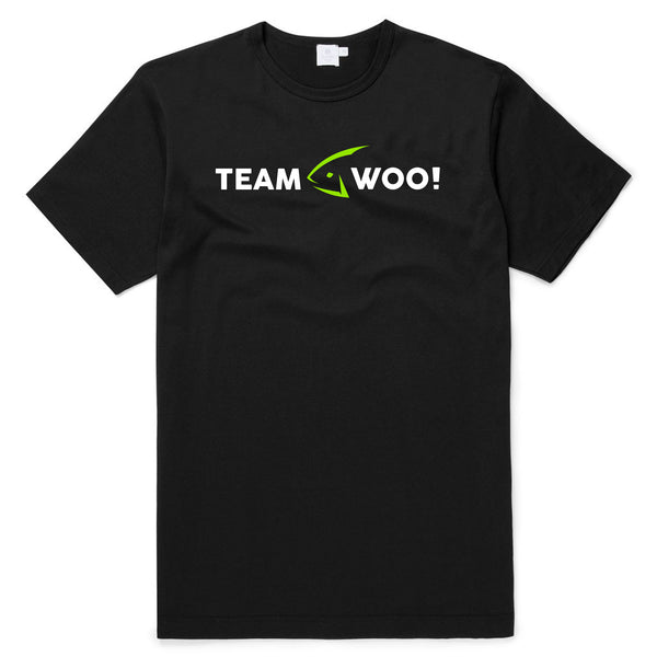 Team WOO! Pro Staff T-Shirt (Black) - WOO! TUNGSTEN