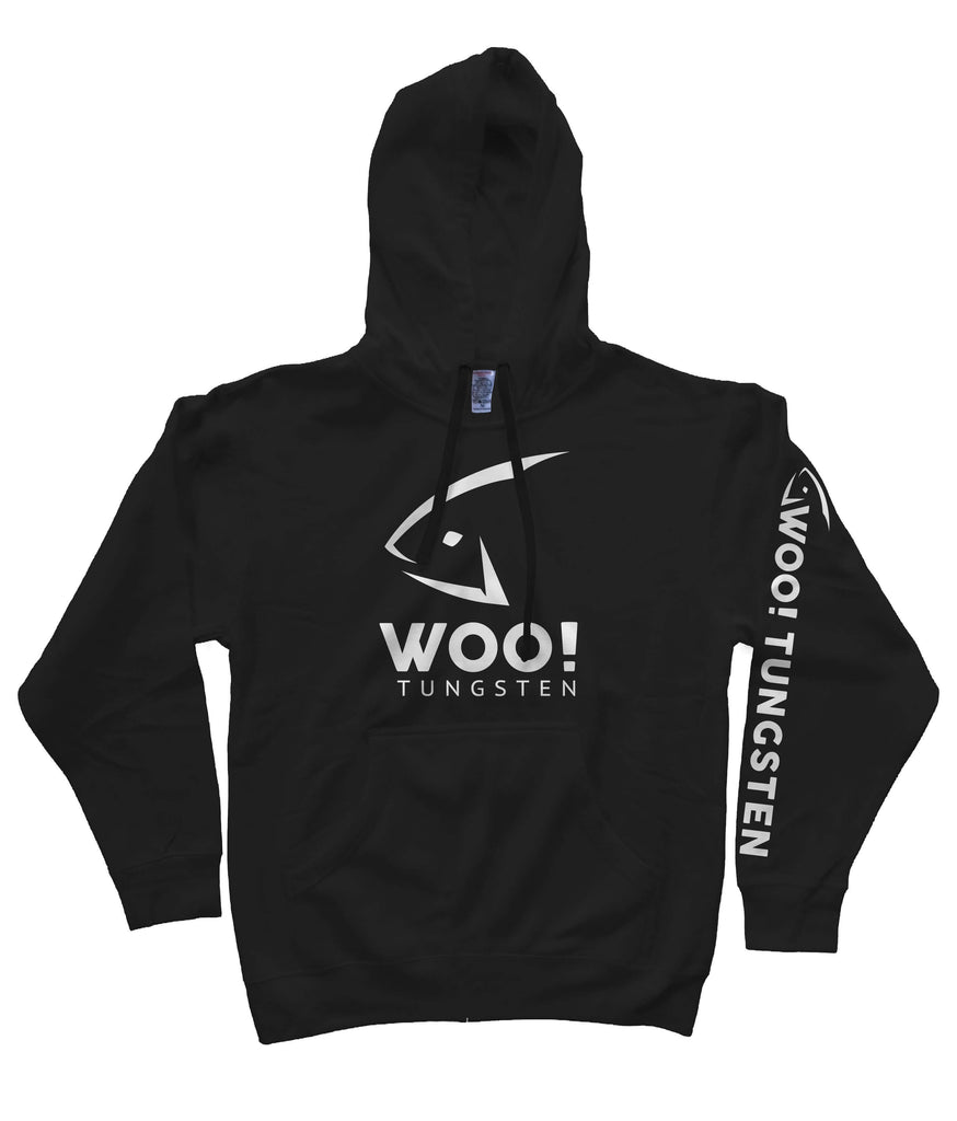 Super Soft WOO! Hoodie (Black) - WOO! TUNGSTEN