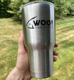 Stainless Steel 30 oz Insulated WOO! Tungsten Tumbler - WOO! TUNGSTEN