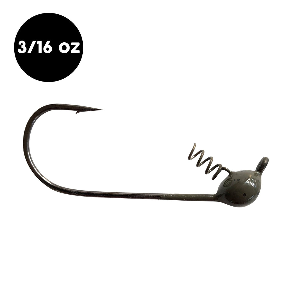 3/16 oz WOO! Tungsten Shaky Head (3 pack) - WOO! TUNGSTEN
