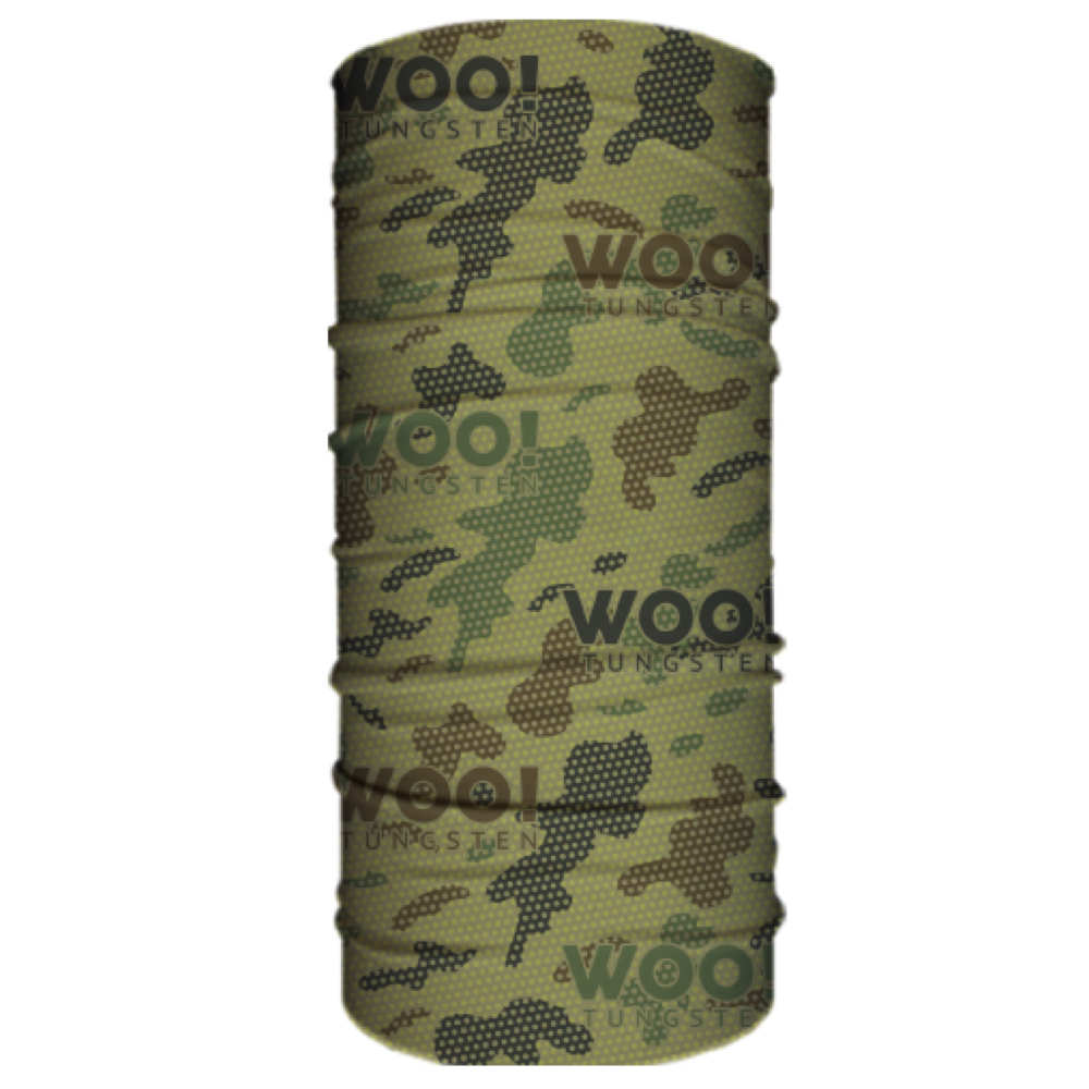WOO! Tungsten Face Shield (Army camo) - WOO! TUNGSTEN