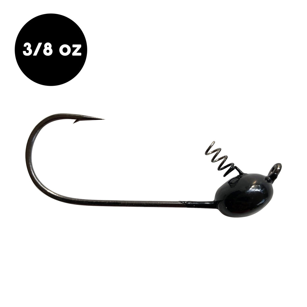3/8 oz WOO! Tungsten Shaky Head (2 pack) - WOO! TUNGSTEN